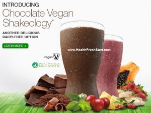 Chocolate Vegan Shakeology available now