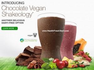 Chocolate Vegan Shakeology available now