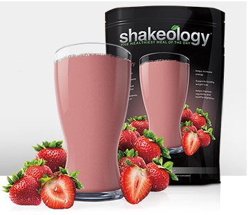 New Shakeology Strawberry flavor