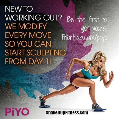 PiYo Workout and Shakeology