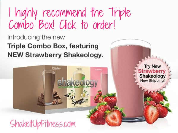 Triple Pack Shakeology - vanilla, chocolate, strawberry