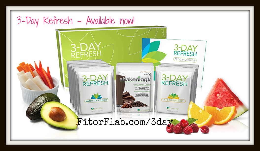 3 Day Refresh Complete Kit Available