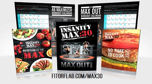 Insanity MAX 30 tools