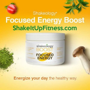 Shakeology Focused Energy Boost