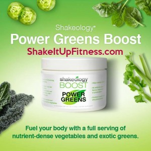 Shakeology Power Greens Boost