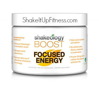 oRDER Shakeology Focused Energy Boost