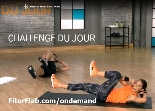 Challenge Du Jour Beachbody on Demand